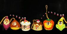 Yujin Disney Chip n Dale fruit cake jelly strap Figure (set of 6 figures)