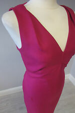 L K BENNETT ERIANNA OCCASION  DRESS - SIZE 14 - FULLY LINED - PINK