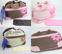 Baby Diaper Bag Nappy Tote Messenger Changing Bag 118 style 3 Colors for choice