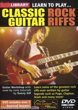 LICK LIBRARY Learn to Play CLASSIC ROCK Riffs Lesson DIRE STRAITS Guitar DVD