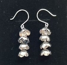 "Liisa Vitali Finland - Beautiful Sterling Silver ""Spring"" Earrings"