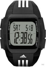 NIB ADIDAS DURAMO BLACK DIGITAL SPORTS CHRONOGRAPH WATCH ADP6071