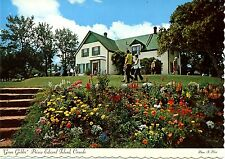 Old post card postcard ANNE OF GREEN GABLES house flowers etc. Collector stamps