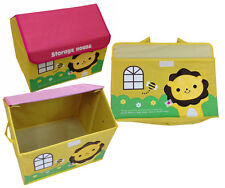 Toy Box House Lion Storage Box Toy Box Storage Kids' Furniture