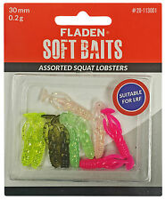 Fladen Soft Baits Assorted Squat Lobsters | LRF Fishing
