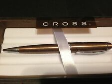 ~ Cross LTD Bailey Pen ~ COCOA BROWN and Chrome  Ball Point ~ Rich and Handsome