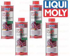 Set of 4 Liqui Moly Diesel Fuel Additive Purge 500 ml. Can 2005
