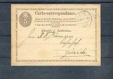 Carte-Corresponance 5 Centimes Schweiz - b0987