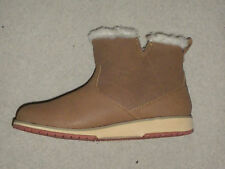 Offer-New-Emu-Beach-Mini-Womens-Chestnut/ Tan-Suede-Leather-Ankle-Boot-UK-6
