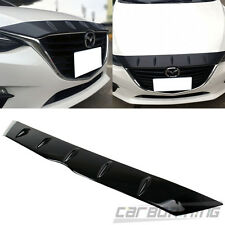 Glossy Surface Mazda 3 BM Sedan / Maxx Hatchback Front Hood Fin Spoiler Cover
