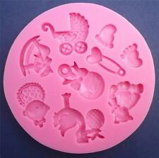 Baby formes Moule Silicone, savon, candle mold, sucre Craft, clay, fimo,