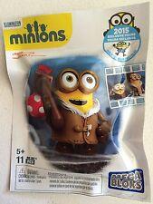 SDCC 2015 Comic Con Exclusive Minions Mega Bloks Minion Figure Mini Figure Rare