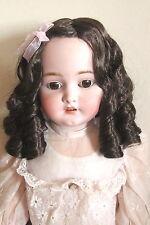 """perruque boucles courtes Jumeau®tête30/31cm-poupée ancienne-doll Wig head sz12"""""""