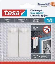 Tesa powerstrips klebenagel 1,0 kg 77773-00, 2 unidades, reutilizables
