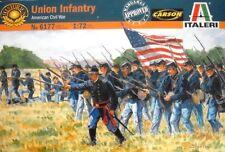 1/72 Italeri 6177, ACW Union Infantry, Nordstaaten Infanterie, Esci,  OVP