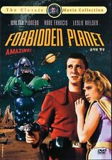 FORBIDDEN PLANET (1956) DVD - BRAND NEW - ALL REGION - WALTER PIDGEON