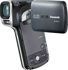 PANASONIC HX-WA10 CAMCORDER WATERPROOF HD SDHC / SD CARD HIGH DEFINITION VIDEO