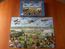 GIBSONS PUZZLE The Airshow - 500 Piece XL Jigsaw - Complete - VVGC