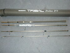 Shimano Tribal Carpa Stalker Rod 9ft 4pc 3lb + Cordura tubo pesca della carpa tackle