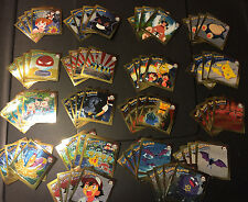 4 SETS of 18 Stickers (72 stickers total) Pokemon Chase Chrome Artbox Nintendo