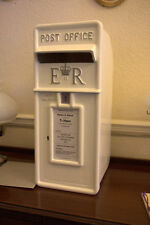 White Royal Mail Post Box / Personalised Card -for Wedding or special occasion
