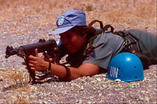 518048 Female Member Of Swedish Infantry Battalion With UNFICYP A4 Photo Print