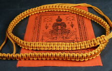 Buddha Sacred SAI SIN BELT blessed by Buddhist Monks.Health, Love & Protection.