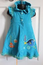 Girls 3T Disney Collection Finding Nemo Disney Swimsuit Cover Up Dory Robe Style