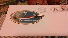 1982 Columbia Mattingly Hartsfield Kennedy Space Center FDC stamp cover envelope