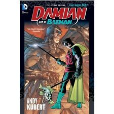 Damian: Son of Batman by Andy Kubert & Grant Morrison DC New 52 Deluxe HC 2014