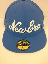 New Era 59Fifty Branded Flag Fly Your Own Flag Blue Fitted Hat Size 7 1/2