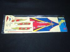 NOS MID-OLD SKOOL 1997 GT Showtime Jeremy Mcgrath SUZUKI STICKER SET BMX RACING