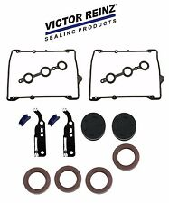 NEW AUDI Head Seal Valve Cover CamBorePlugsCamshaftSeal Kit + Valve Cover Gasket