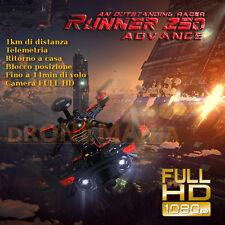 Walkera Runner 250 advanced R GPS drone CAMERA FULL HD 1KM distanza VELOCISSIMO