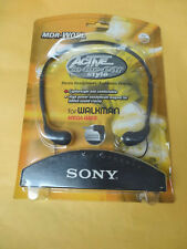 VINTAGE SONY MDR-W08L STEREO HEADPHONES IN SEALED ORIGINAL PACKAGING BY 1998 NEW
