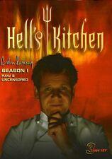 Hell's Kitchen: Season 1 [3 Discs] (2008, DVD New)
