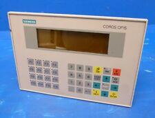 Siemens OP15-B 6AV3515-1MA01 6AV3515 Operator Panel SPS 6AV3 515 Rechg. Mwst.