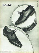 PUBLICITE ADVERTISING 096  1961  Bally   chaussures homme 2