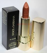 Dolce & Gabbana Classic Cream Lipstick Shade (Desert 109) Full Size New In Box