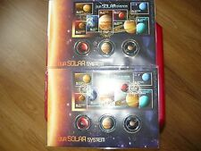 2 X 2015 LIMITED EDITION OUR SOLAR SYSTEM PNC- -2 consective numbers- 250 ISSUED