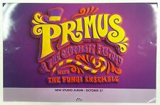 Music Poster Promo Primus & The Chocolate Factory with The Fungi Ensemble