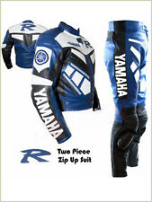YAMAHA MOTORBIKE LEATHER SUIT SPORTS RACING BIKER SUIT CE-BESPOKE-