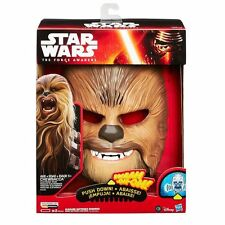 Star Wars The Force Awakens Chewbacca Electronic Talking Mask FREE PEN, STICKERS