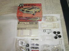 AMT 1970 Oldsmobile Cutlass 442 Funny Car Model Kit