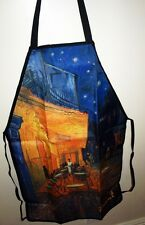 Apron Vincent Van Gogh Cafe Terrace At Night Adjustable Art Print Kitchen New