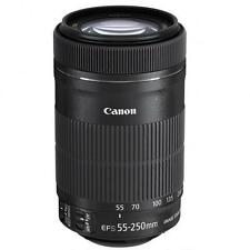 New Canon EF-S 8546B002 55-250mm F/4.0-5.6 STM IS Lens sale SLR 6D 70D 80D 5Ds