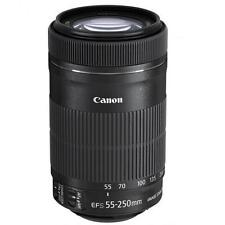 Canon EF-S 55-250mm f/4-5.6 IS STM Lens. New.