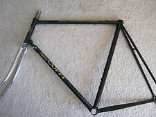 FAUSTO COPPI STEEL ROAD FRAME & CHROME FORKS, BLACK 61/58cm NOS/NEW