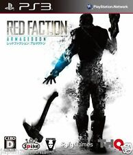 Used PS3 Red Faction: Armageddon SONY PLAYSTATION 3 JAPAN JAPANESE IMPORT
