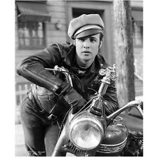 Marlon Brando in The Wild One as Johnny Strabler on Motorcycle 8 x 10 inch photo
